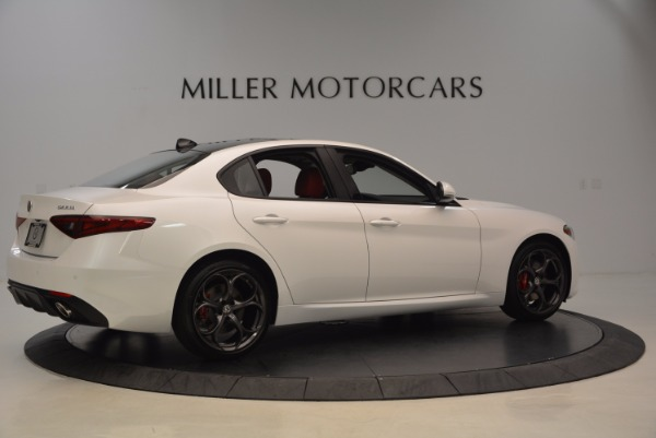New 2017 Alfa Romeo Giulia Ti Q4 for sale Sold at Alfa Romeo of Greenwich in Greenwich CT 06830 8