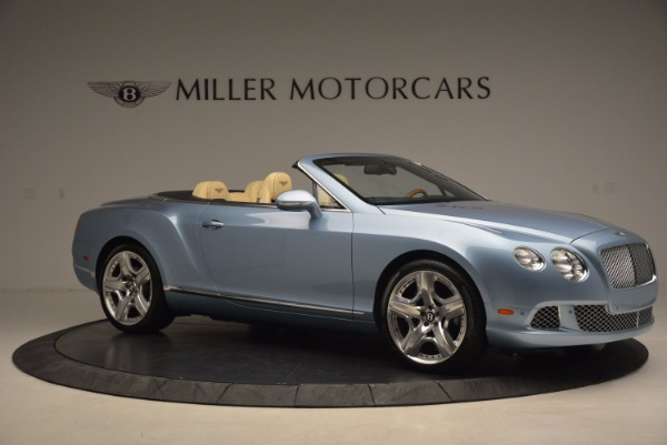 Used 2012 Bentley Continental GTC W12 for sale Sold at Alfa Romeo of Greenwich in Greenwich CT 06830 10