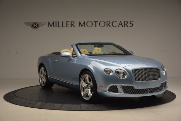 Used 2012 Bentley Continental GTC W12 for sale Sold at Alfa Romeo of Greenwich in Greenwich CT 06830 11