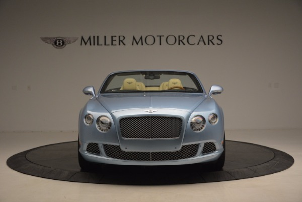 Used 2012 Bentley Continental GTC W12 for sale Sold at Alfa Romeo of Greenwich in Greenwich CT 06830 12