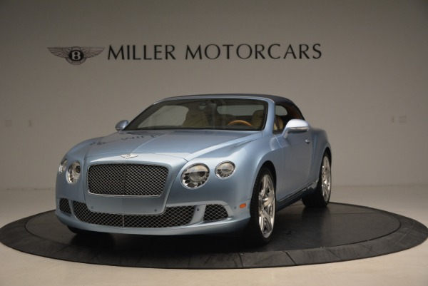 Used 2012 Bentley Continental GTC W12 for sale Sold at Alfa Romeo of Greenwich in Greenwich CT 06830 13