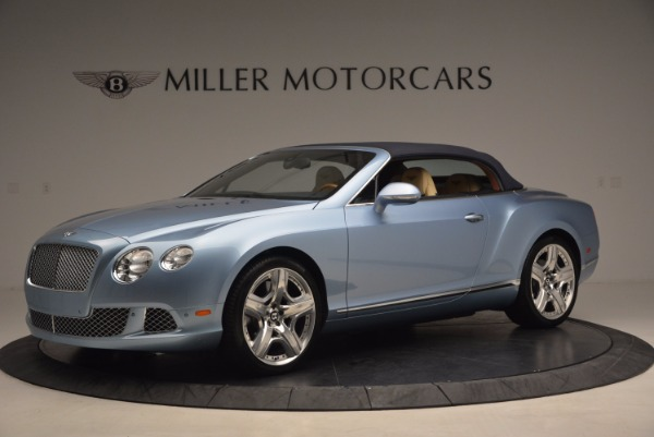 Used 2012 Bentley Continental GTC W12 for sale Sold at Alfa Romeo of Greenwich in Greenwich CT 06830 14