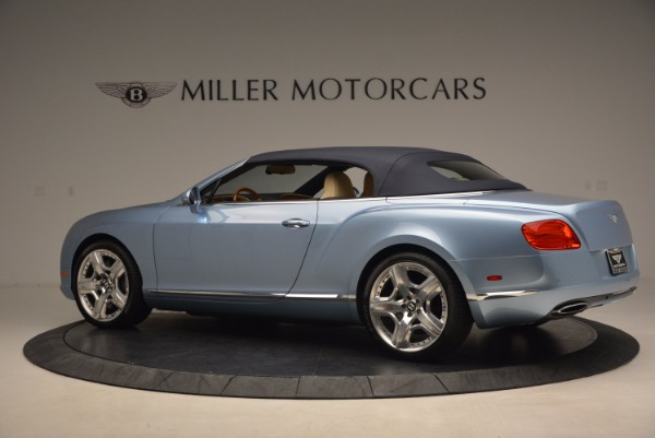 Used 2012 Bentley Continental GTC W12 for sale Sold at Alfa Romeo of Greenwich in Greenwich CT 06830 16