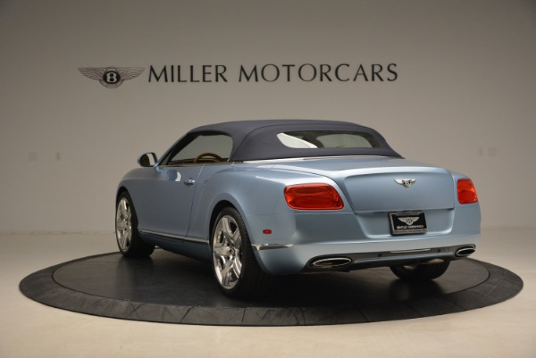 Used 2012 Bentley Continental GTC W12 for sale Sold at Alfa Romeo of Greenwich in Greenwich CT 06830 17