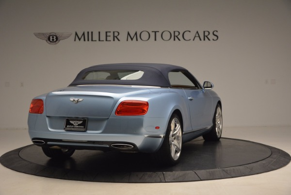 Used 2012 Bentley Continental GTC W12 for sale Sold at Alfa Romeo of Greenwich in Greenwich CT 06830 19