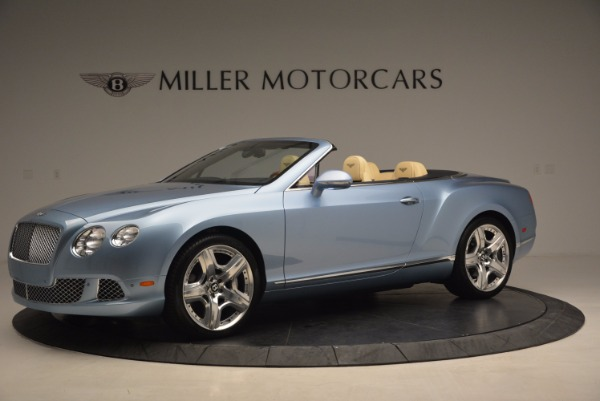 Used 2012 Bentley Continental GTC W12 for sale Sold at Alfa Romeo of Greenwich in Greenwich CT 06830 2
