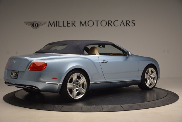 Used 2012 Bentley Continental GTC W12 for sale Sold at Alfa Romeo of Greenwich in Greenwich CT 06830 20