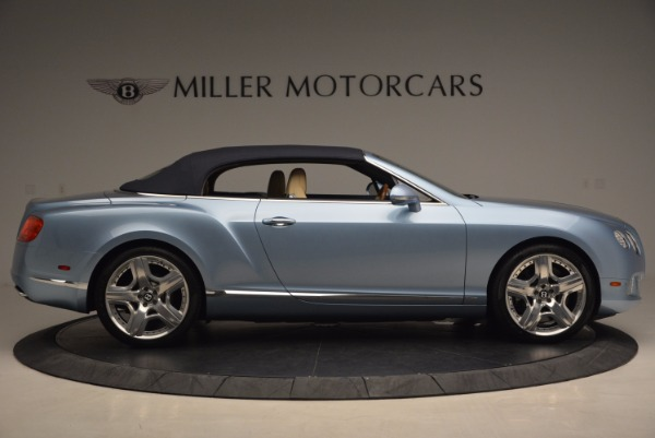 Used 2012 Bentley Continental GTC W12 for sale Sold at Alfa Romeo of Greenwich in Greenwich CT 06830 21
