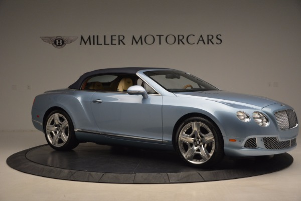 Used 2012 Bentley Continental GTC W12 for sale Sold at Alfa Romeo of Greenwich in Greenwich CT 06830 22