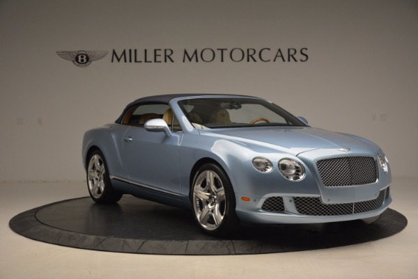 Used 2012 Bentley Continental GTC W12 for sale Sold at Alfa Romeo of Greenwich in Greenwich CT 06830 23