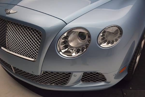 Used 2012 Bentley Continental GTC W12 for sale Sold at Alfa Romeo of Greenwich in Greenwich CT 06830 25