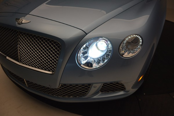 Used 2012 Bentley Continental GTC W12 for sale Sold at Alfa Romeo of Greenwich in Greenwich CT 06830 27