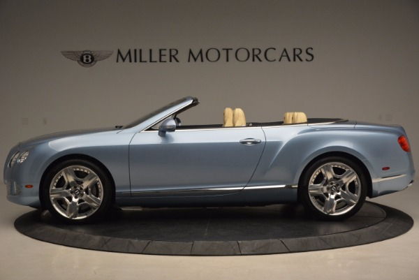 Used 2012 Bentley Continental GTC W12 for sale Sold at Alfa Romeo of Greenwich in Greenwich CT 06830 3