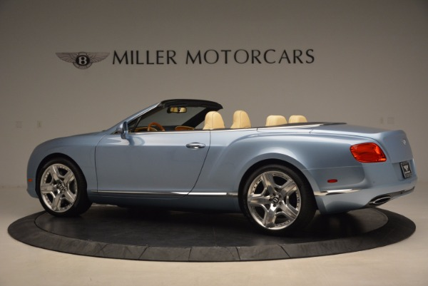 Used 2012 Bentley Continental GTC W12 for sale Sold at Alfa Romeo of Greenwich in Greenwich CT 06830 4