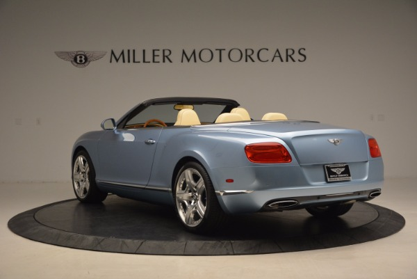 Used 2012 Bentley Continental GTC W12 for sale Sold at Alfa Romeo of Greenwich in Greenwich CT 06830 5