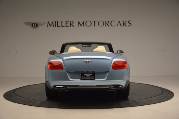 Used 2012 Bentley Continental GTC W12 for sale Sold at Alfa Romeo of Greenwich in Greenwich CT 06830 6