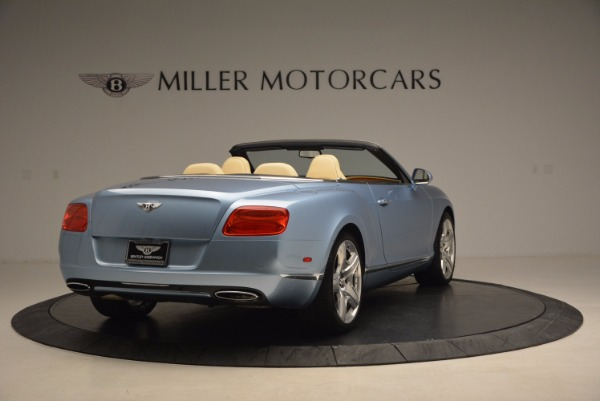 Used 2012 Bentley Continental GTC W12 for sale Sold at Alfa Romeo of Greenwich in Greenwich CT 06830 7