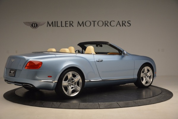Used 2012 Bentley Continental GTC W12 for sale Sold at Alfa Romeo of Greenwich in Greenwich CT 06830 8