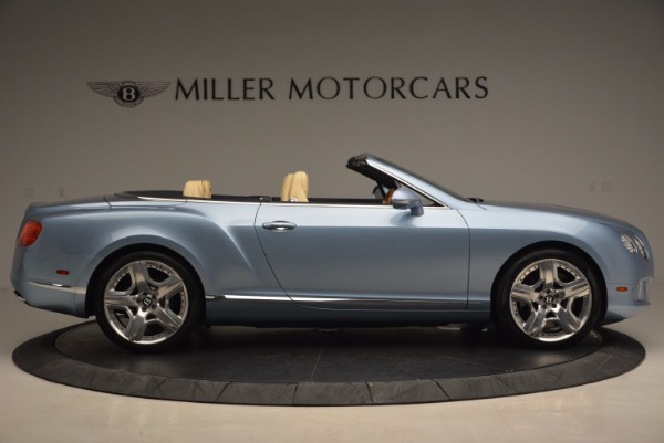 Used 2012 Bentley Continental GTC W12 for sale Sold at Alfa Romeo of Greenwich in Greenwich CT 06830 9
