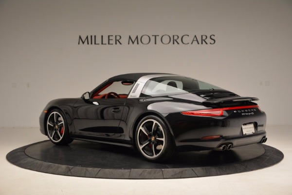 Used 2015 Porsche 911 Targa 4S for sale Sold at Alfa Romeo of Greenwich in Greenwich CT 06830 15