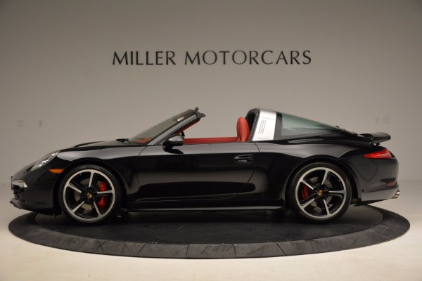 Used 2015 Porsche 911 Targa 4S for sale Sold at Alfa Romeo of Greenwich in Greenwich CT 06830 3
