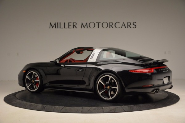 Used 2015 Porsche 911 Targa 4S for sale Sold at Alfa Romeo of Greenwich in Greenwich CT 06830 4