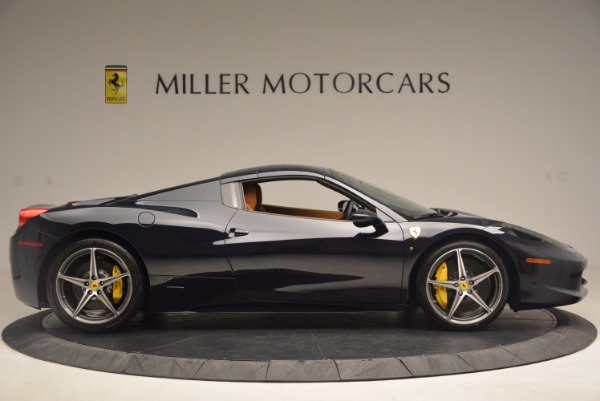 Used 2015 Ferrari 458 Spider for sale Sold at Alfa Romeo of Greenwich in Greenwich CT 06830 19