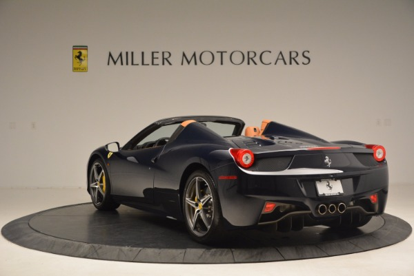 Used 2015 Ferrari 458 Spider for sale Sold at Alfa Romeo of Greenwich in Greenwich CT 06830 5
