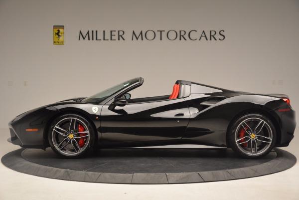 Used 2017 Ferrari 488 Spider for sale Sold at Alfa Romeo of Greenwich in Greenwich CT 06830 3