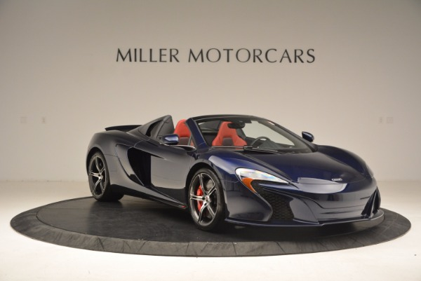 Used 2015 McLaren 650S Spider for sale Sold at Alfa Romeo of Greenwich in Greenwich CT 06830 11