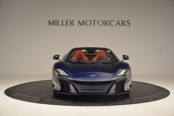 Used 2015 McLaren 650S Spider for sale Sold at Alfa Romeo of Greenwich in Greenwich CT 06830 12