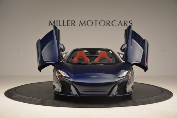 Used 2015 McLaren 650S Spider for sale Sold at Alfa Romeo of Greenwich in Greenwich CT 06830 13