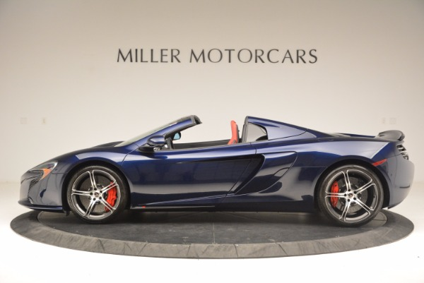 Used 2015 McLaren 650S Spider for sale Sold at Alfa Romeo of Greenwich in Greenwich CT 06830 3
