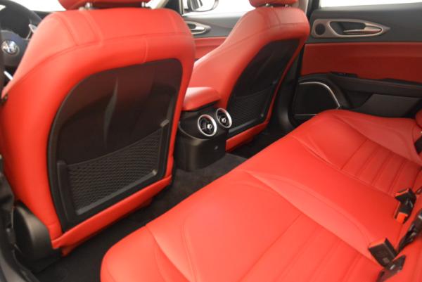 New 2017 Alfa Romeo Giulia Ti Sport Q4 for sale Sold at Alfa Romeo of Greenwich in Greenwich CT 06830 16