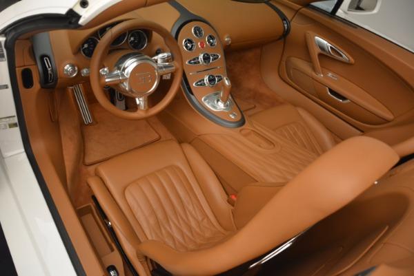 Used 2011 Bugatti Veyron 16.4 Grand Sport for sale Call for price at Alfa Romeo of Greenwich in Greenwich CT 06830 17