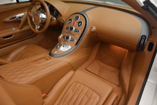 Used 2011 Bugatti Veyron 16.4 Grand Sport for sale Call for price at Alfa Romeo of Greenwich in Greenwich CT 06830 19
