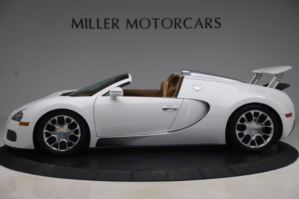 Used 2011 Bugatti Veyron 16.4 Grand Sport for sale Call for price at Alfa Romeo of Greenwich in Greenwich CT 06830 3