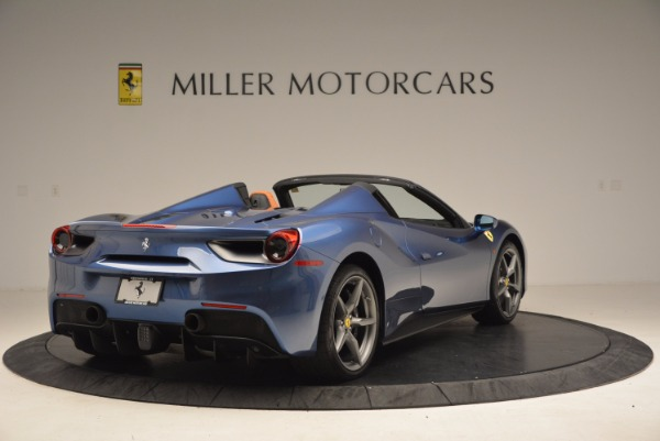 Used 2017 Ferrari 488 Spider for sale Sold at Alfa Romeo of Greenwich in Greenwich CT 06830 7
