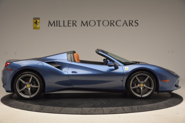Used 2017 Ferrari 488 Spider for sale Sold at Alfa Romeo of Greenwich in Greenwich CT 06830 9