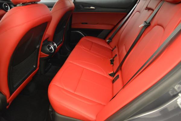New 2018 Alfa Romeo Stelvio Q4 for sale Sold at Alfa Romeo of Greenwich in Greenwich CT 06830 17