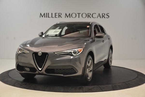 New 2018 Alfa Romeo Stelvio Q4 for sale Sold at Alfa Romeo of Greenwich in Greenwich CT 06830 1
