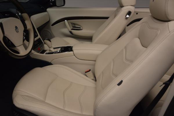 Used 2016 Maserati GranTurismo for sale Sold at Alfa Romeo of Greenwich in Greenwich CT 06830 27