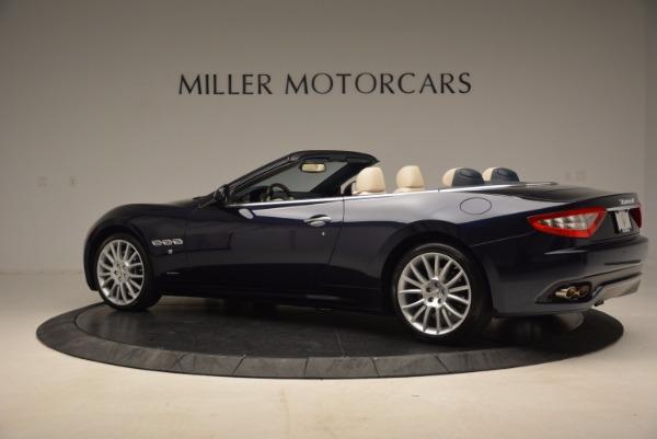 Used 2016 Maserati GranTurismo for sale Sold at Alfa Romeo of Greenwich in Greenwich CT 06830 4