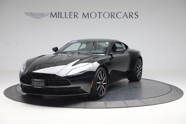 Used 2017 Aston Martin DB11 V12 Coupe for sale $135,900 at Alfa Romeo of Greenwich in Greenwich CT 06830 1