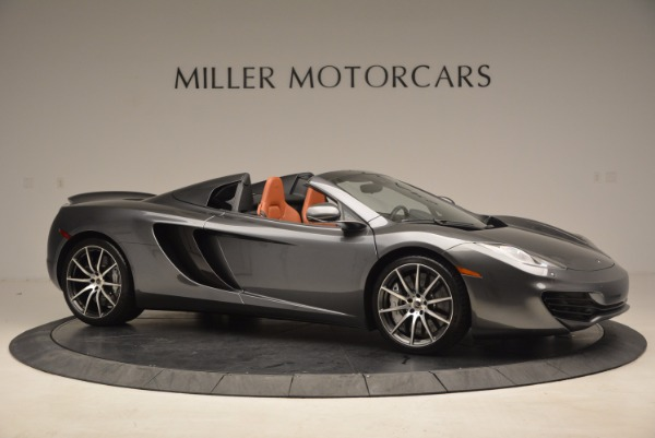 Used 2014 McLaren MP4-12C SPIDER Convertible for sale Sold at Alfa Romeo of Greenwich in Greenwich CT 06830 10