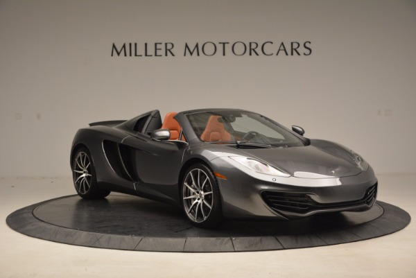 Used 2014 McLaren MP4-12C SPIDER Convertible for sale Sold at Alfa Romeo of Greenwich in Greenwich CT 06830 11