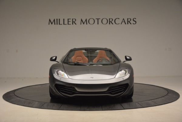 Used 2014 McLaren MP4-12C SPIDER Convertible for sale Sold at Alfa Romeo of Greenwich in Greenwich CT 06830 12