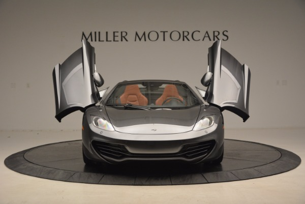 Used 2014 McLaren MP4-12C SPIDER Convertible for sale Sold at Alfa Romeo of Greenwich in Greenwich CT 06830 13