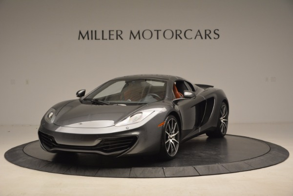 Used 2014 McLaren MP4-12C SPIDER Convertible for sale Sold at Alfa Romeo of Greenwich in Greenwich CT 06830 14