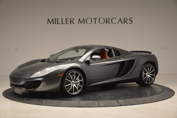 Used 2014 McLaren MP4-12C SPIDER Convertible for sale Sold at Alfa Romeo of Greenwich in Greenwich CT 06830 15